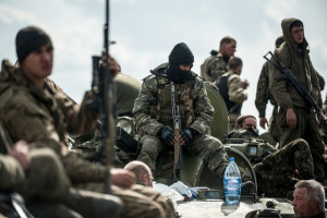 Ukrainian forces blocked in Kramatorsk